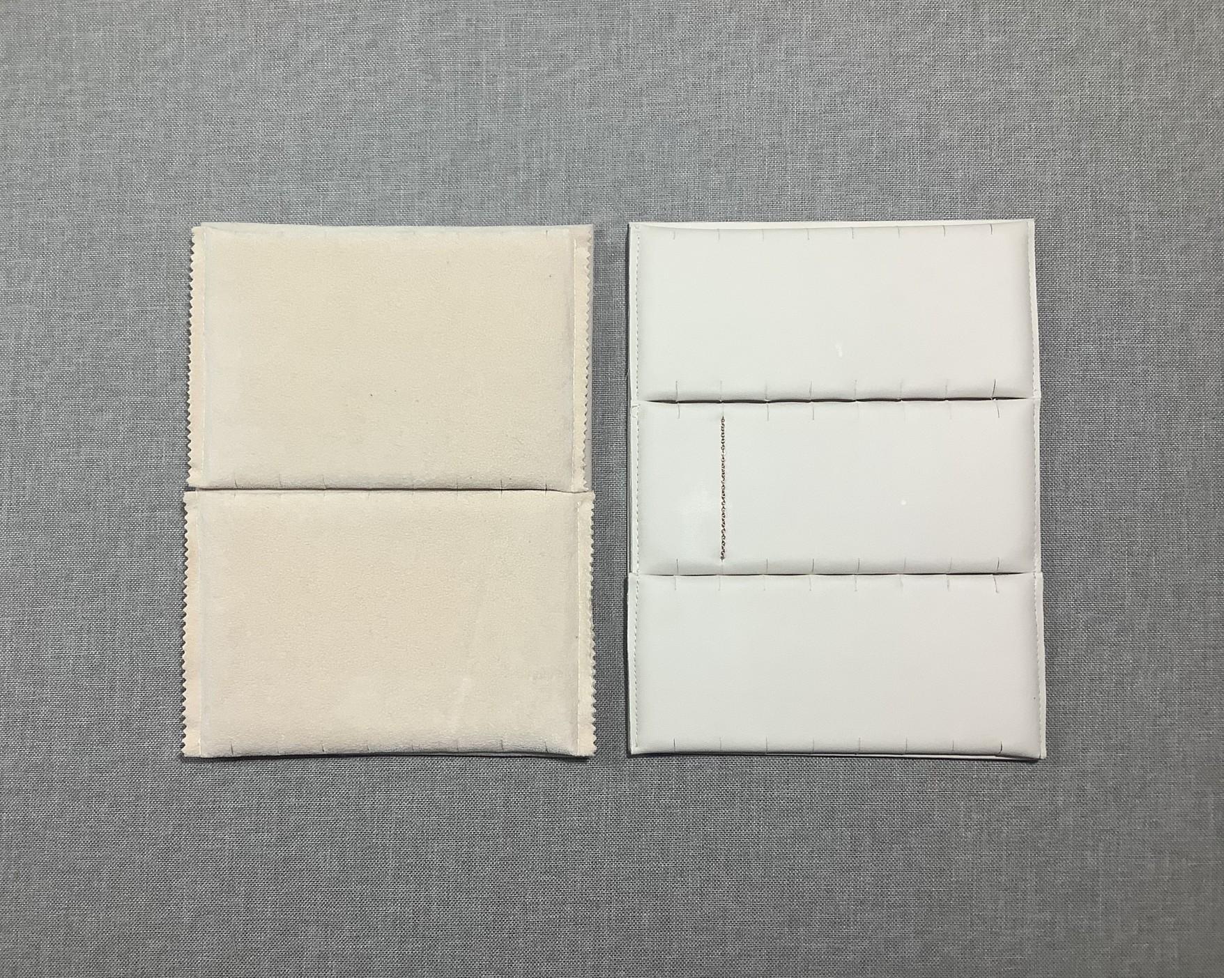 Διπλό --18 cm x 12 cm-- Τριπλό -- 18 cm x 8 cm--