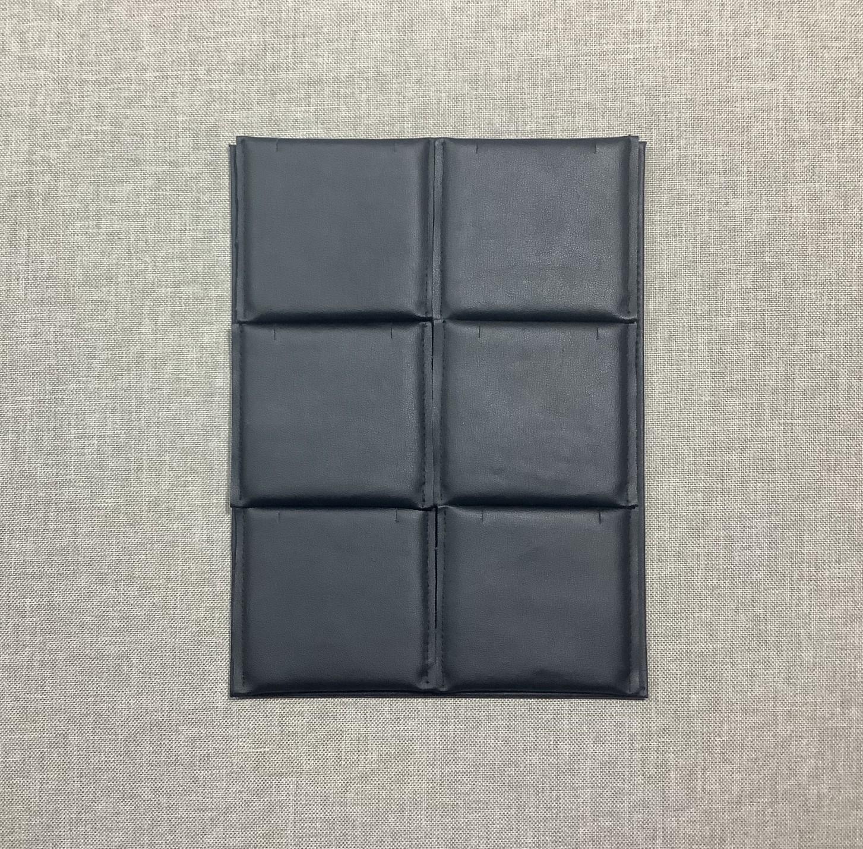 6αρι τετράγωνο --μαξ/ακι 8 cm x 8 cm--